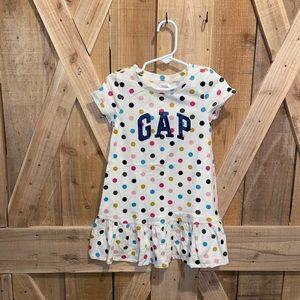 GAP 3T little girl polka dot dress